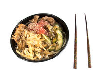 Korean noodles Royalty Free Stock Images