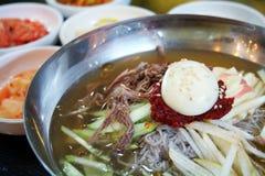 Korean noodles Royalty Free Stock Photo