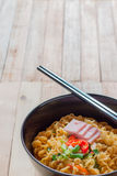 Korean noodles Royalty Free Stock Photography