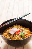 Korean noodles Royalty Free Stock Photos