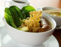 Korean noodles soup Royalty Free Stock Photo