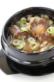 Korean oxtail soup Royalty Free Stock Images