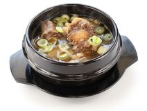 Korean oxtail soup Stock Photos