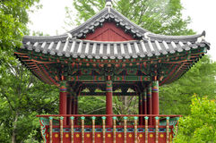 Korean Pagoda Royalty Free Stock Images