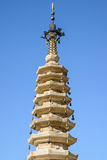 Korean pagoda Royalty Free Stock Photography