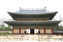 Korean palace Royalty Free Stock Image