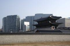 Korean Palace architecture Gyeongbokgung stock photos