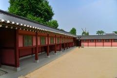 Korean palace Royalty Free Stock Photo