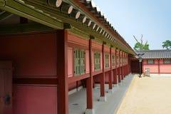 Korean palace Royalty Free Stock Photography