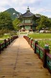 Korean palace temple pagoda, soul, south korea Stock Images