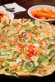 The korean pan cake Stock Photo