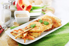 Korean pancakes Stock Image