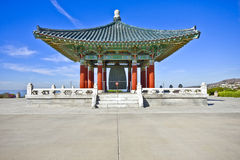 Korean Pavillon Stock Photography