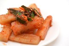 Korean pickle called Kakuteki Royalty Free Stock Photo