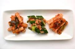 Korean pickle called Kimchi Stock Photos