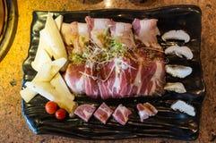 Korean Pork Sets Stock Photos