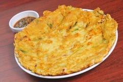 Korean potato cake Royalty Free Stock Image