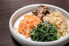 Korean preserved vegetable Royalty Free Stock Photo