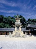 Korean Relic. Monastery View royalty free stock images