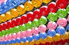 Korean religion lanterns Royalty Free Stock Images