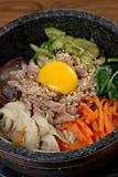 Korean Rice Bowl Stock Images