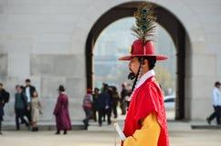 Korean royal guard Royalty Free Stock Photos