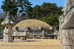 Korean Royal tomb Royalty Free Stock Photo