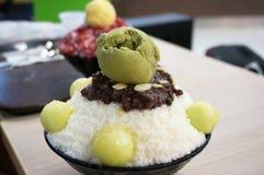 Korean shaved ice, Bing su Stock Images