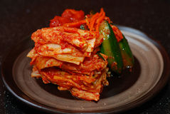 Korean side dishes Royalty Free Stock Images