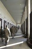 Korean soldiers visiting  War Memorial of Korea Stock Photography