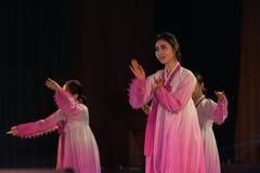 Korean song and dance. China East China Normal University dance graduation performance, January 6, 2016 in Nanchang Stock Photos