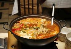Korean soup Royalty Free Stock Image