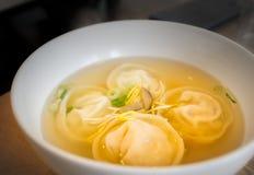 Korean soup dumplings Stock Photography