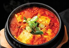Korean spicy traditional food.  stock photos