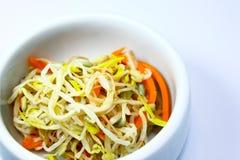 Korean Sprout. Vegetable,carrot garlic Stock Photo