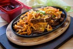 Korean steak Royalty Free Stock Image