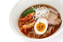 Korean style cold noodles Stock Photo
