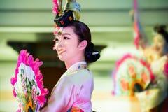 Korean Traditional Dance Stock Photography