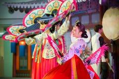 Korean Traditional Dance Stock Image