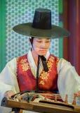 Korean Traditional Dance Stock Images