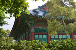 Korean Temple Stock Photo