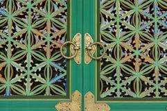 Korean temple pattern Royalty Free Stock Photo