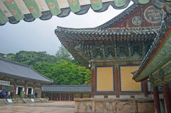 Korean Temple Royalty Free Stock Image