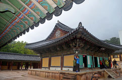 Korean Temple Royalty Free Stock Photos