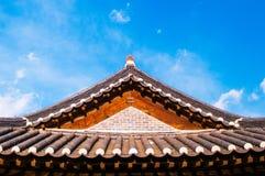 Korean tiles roof, Korean house Stock Photos