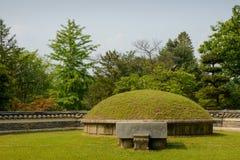 Korean tomb Stock Image