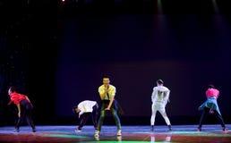Korean top bowl-The national folk dance Royalty Free Stock Images