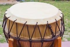 Korean traditional drum Stock Photos