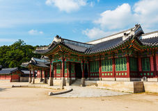 Korean traditional architecture Stock Images