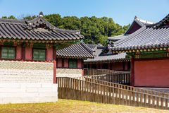 Korean traditional architecture Stock Photography